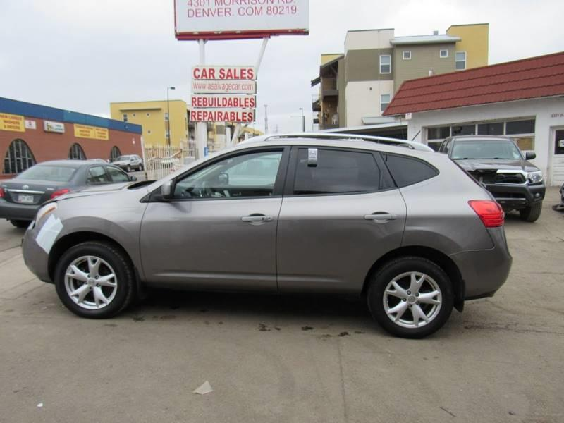 2009 Nissan Rogue AWD SL Crossover 4dr In Denver CO - STS ...