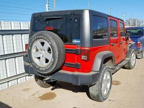 2012 Jeep Wrangler Unlimited for sale in Denver, CO