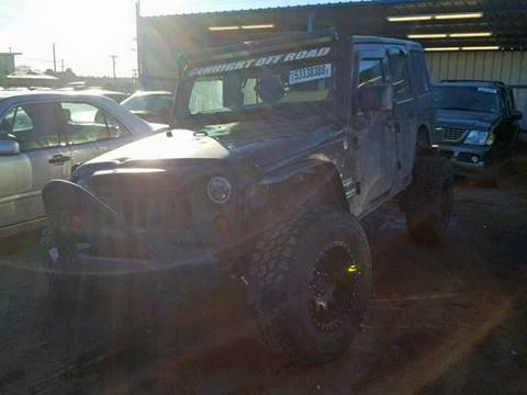 2011 Jeep Wrangler Unlimited for sale in Denver, CO