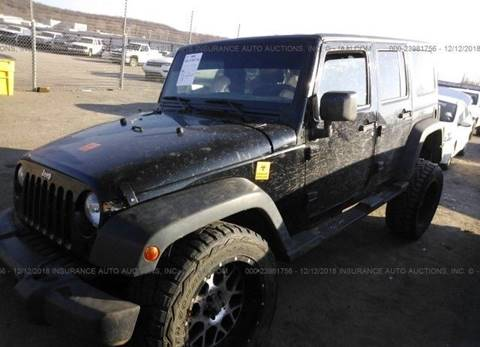 2015 Jeep Wrangler Unlimited for sale in Denver, CO