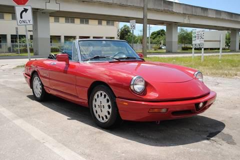 1993 Alfa Romeo Spider for sale in Miami, FL