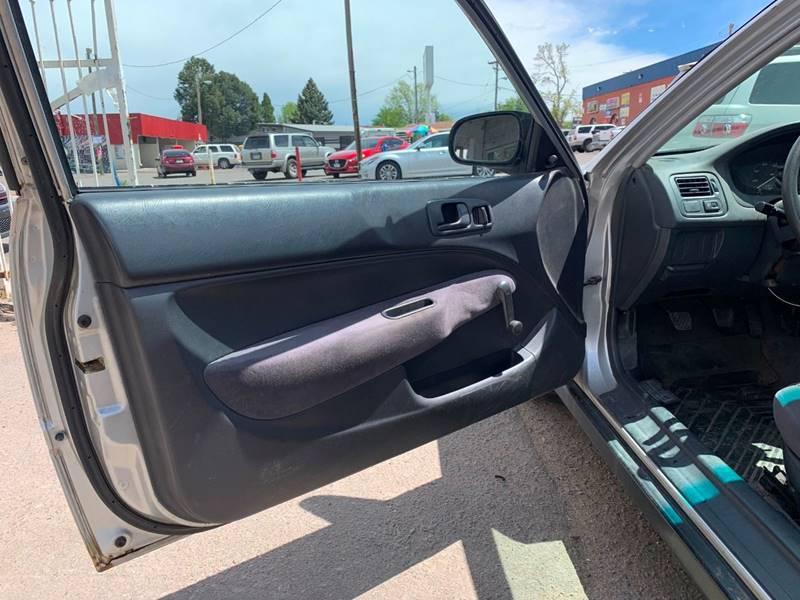 1999 Honda Civic Dx 2dr Hatchback In Denver Co Sts Automotive