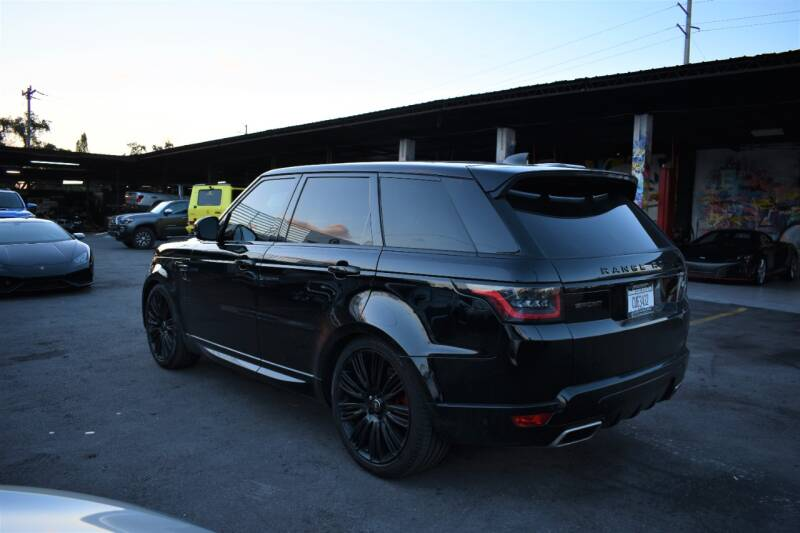 2018 Land Rover Range Rover Sport AWD HSE Dynamic 4dr SUV - Miami FL