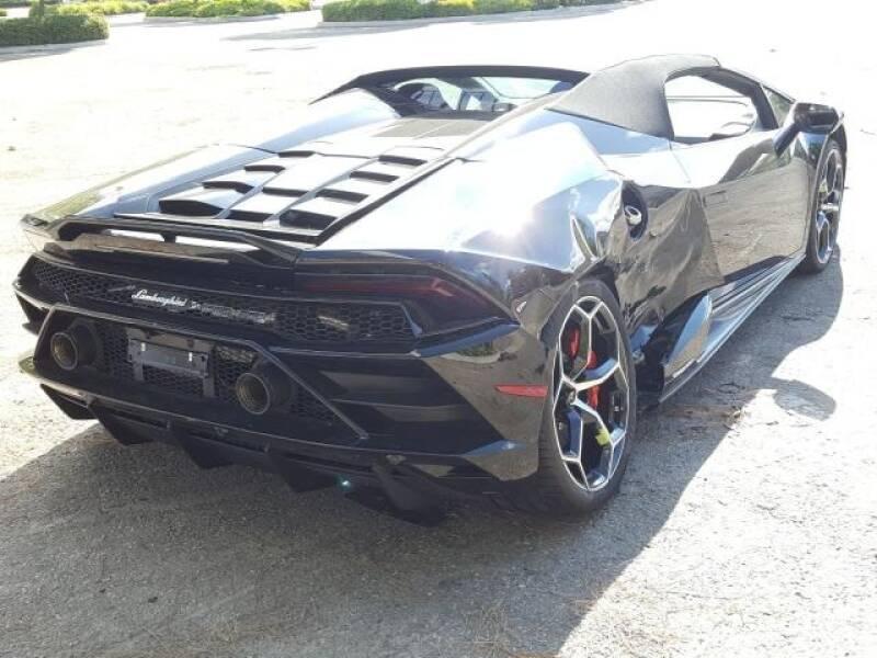 2020 Lamborghini Huracan AWD LP 640-4 EVO Spyder 2dr Convertible - Miami FL