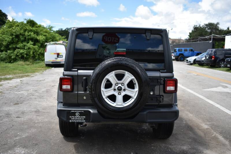 2018 Jeep Wrangler Unlimited 4x4 Sport S 4dr SUV (midyear release) - Miami FL