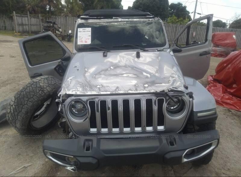 2018 Jeep Wrangler Unlimited 4x4 Sahara 4dr SUV (midyear release) - Miami FL