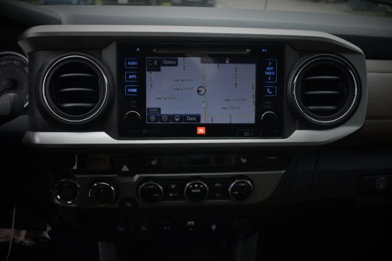 2016 Toyota Tacoma 4x4 Limited 4dr Double Cab 5.0 ft SB - Miami FL