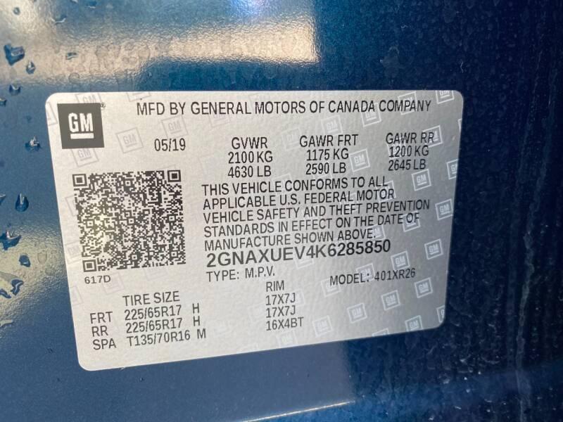 2019 Chevrolet Equinox 4x4 LT 4dr SUV w/1LT - Denver CO