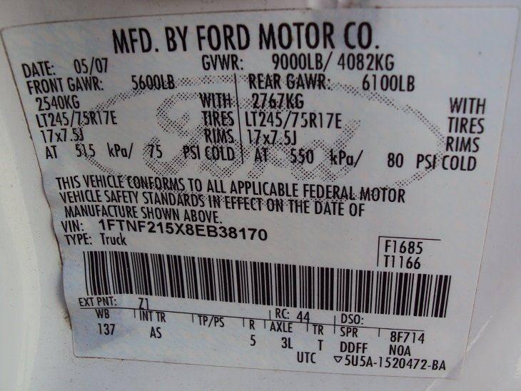 2008 Ford F-250 Super Duty XLT 2dr Regular Cab 4WD LB - Canton OH