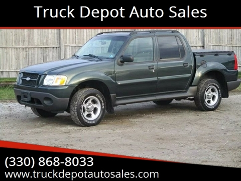Ford Explorer Sport Trac For Sale In Minerva Oh Truck