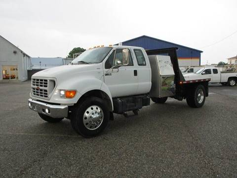 2000 Ford F-750 Super Duty for sale in Minerva, OH