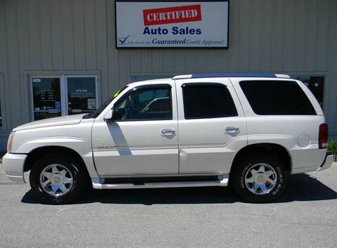 2002 Cadillac Escalade for sale in Des Moines, IA