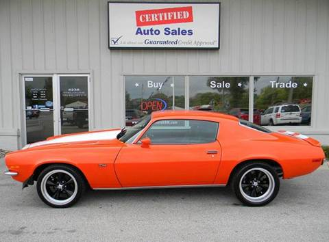 1972 Chevrolet Camaro for sale in Des Moines, IA