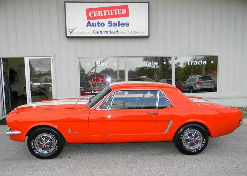 1965 mustang 2 2 1965 ford mustang 2 dr in des moines ia certified auto sales