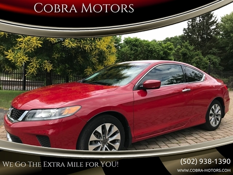 2015 Honda Accord for sale in Louisville, KY