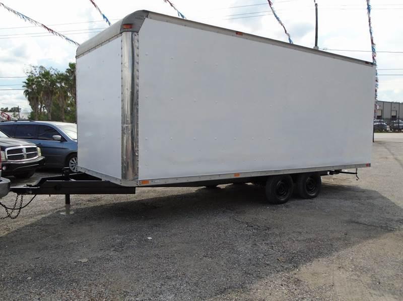 2002  BOX TRAILER for sale at J & F AUTO SALES in Houston TX