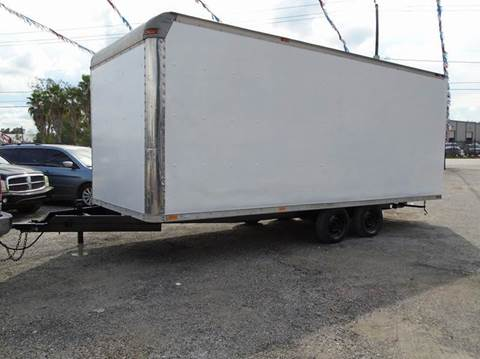 2002  BOX TRAILER for sale at J & F AUTO SALES in Houston TX
