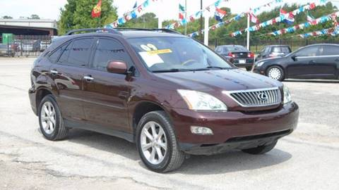 2009 Lexus RX 350 for sale at J & F AUTO SALES in Houston TX