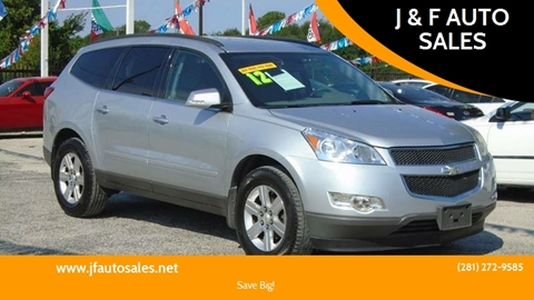 2012 Chevrolet Traverse for sale at J & F AUTO SALES in Houston TX