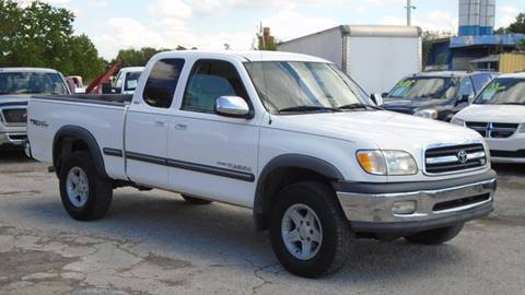 2000 Toyota Tundra for sale at J & F AUTO SALES in Houston TX