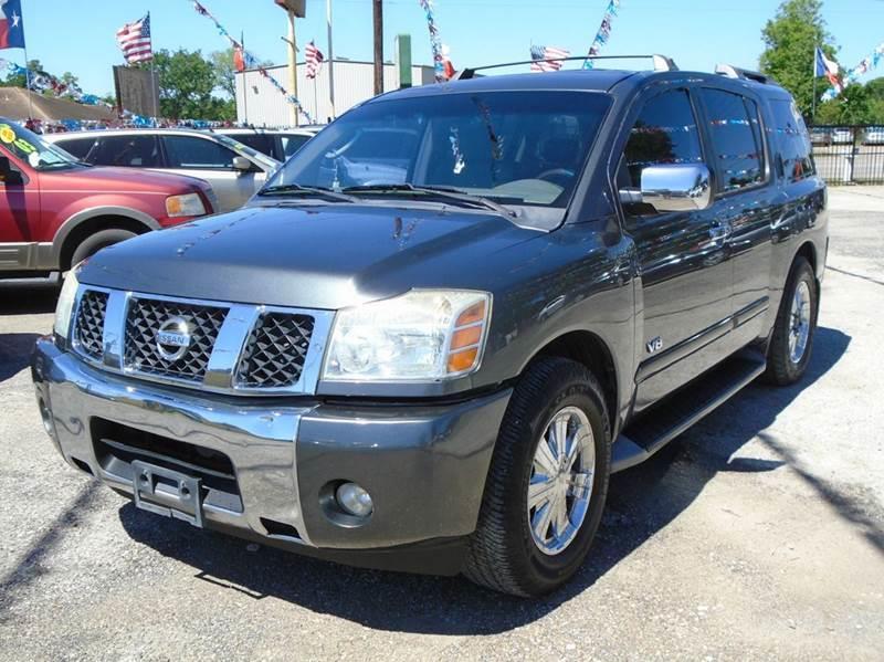 Suv Auto Sales Houston Tx: 2005 Nissan Armada SE 4dr SUV In Houston TX