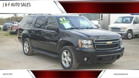 2007 Chevrolet Suburban for sale at J & F AUTO SALES in Houston TX