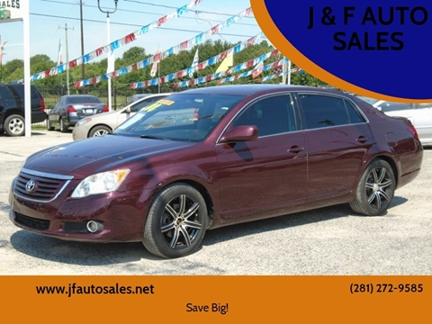 2008 Toyota Avalon for sale at J & F AUTO SALES in Houston TX