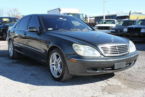 2002 Mercedes-Benz S-Class for sale at J & F AUTO SALES in Houston TX