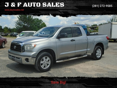 2008 Toyota Tundra for sale at J & F AUTO SALES in Houston TX