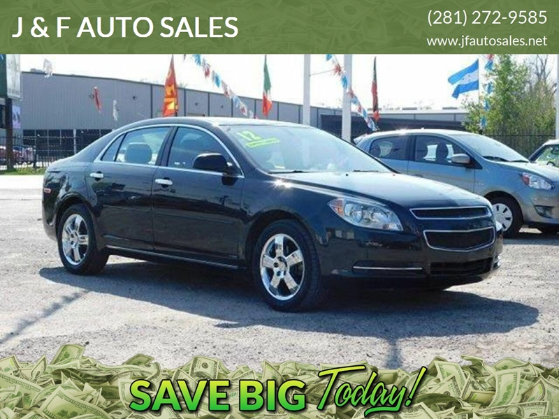 2012 Chevrolet Malibu LT 4dr Sedan w/2LT In Houston TX - J