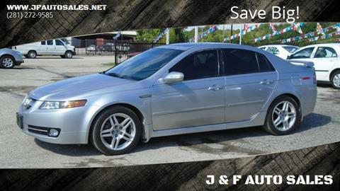 2008 Acura TL for sale in Houston, TX