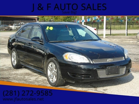 2014 Chevrolet Impala Limited for sale at J & F AUTO SALES in Houston TX