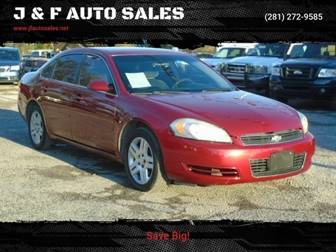 2006 Chevrolet Impala for sale at J & F AUTO SALES in Houston TX