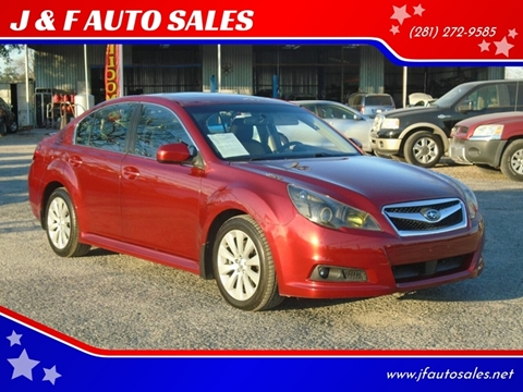 2011 Subaru Legacy for sale at J & F AUTO SALES in Houston TX