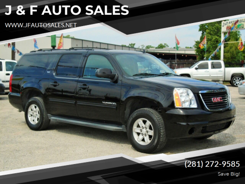 2012 GMC Yukon XL for sale at J & F AUTO SALES in Houston TX