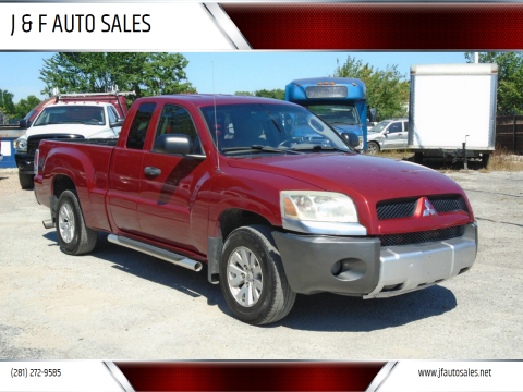 2006 Mitsubishi Raider for sale at J & F AUTO SALES in Houston TX