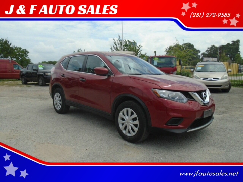 2016 Nissan Rogue for sale at J & F AUTO SALES in Houston TX