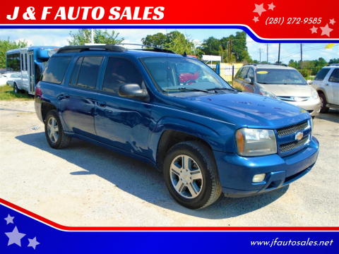 2006 Chevrolet TrailBlazer EXT for sale at J & F AUTO SALES in Houston TX