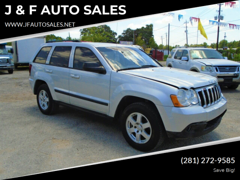 2008 Jeep Grand Cherokee for sale at J & F AUTO SALES in Houston TX
