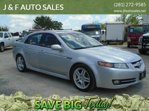 2007 Acura TL for sale at J & F AUTO SALES in Houston TX