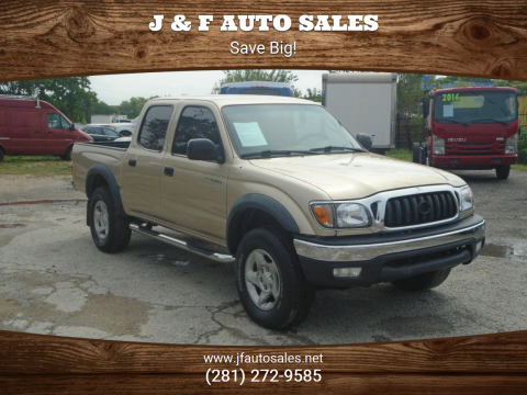 2002 Toyota Tacoma for sale at J & F AUTO SALES in Houston TX