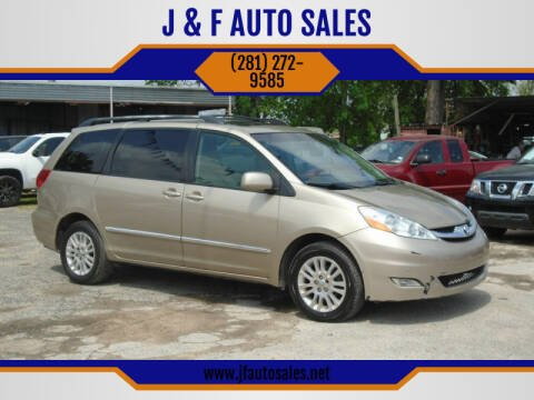 2008 Toyota Sienna for sale at J & F AUTO SALES in Houston TX