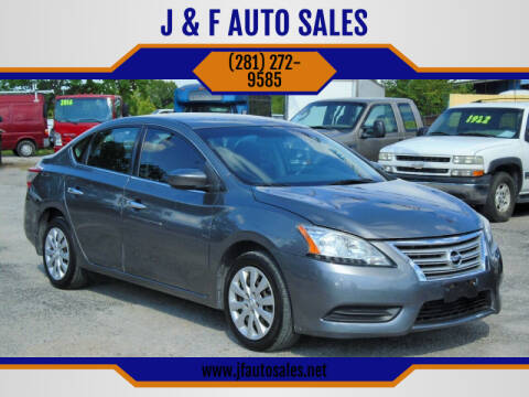 2015 Nissan Sentra for sale at J & F AUTO SALES in Houston TX