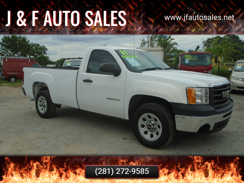 2011 GMC Sierra 1500 for sale at J & F AUTO SALES in Houston TX