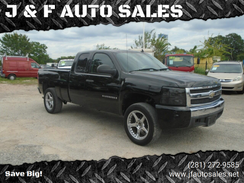 2008 Chevrolet Silverado 1500 for sale at J & F AUTO SALES in Houston TX