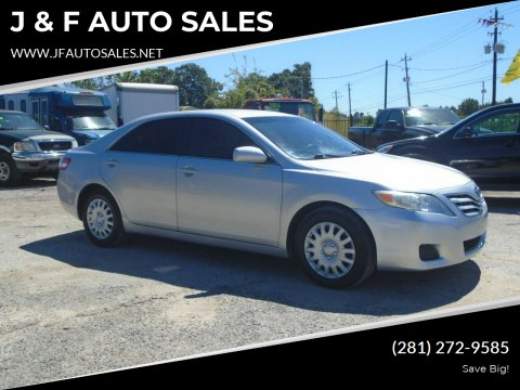 2010 Toyota Camry for sale at J & F AUTO SALES in Houston TX