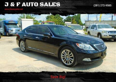 2007 Lexus LS 460 for sale at J & F AUTO SALES in Houston TX
