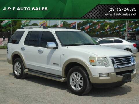 2007 Ford Explorer for sale at J & F AUTO SALES in Houston TX