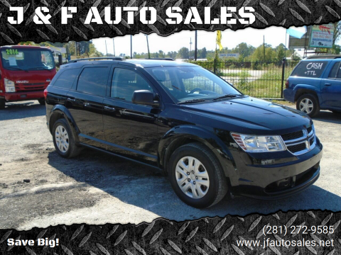 2014 Dodge Journey for sale at J & F AUTO SALES in Houston TX