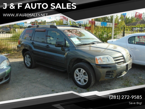 2004 Mitsubishi Endeavor for sale at J & F AUTO SALES in Houston TX